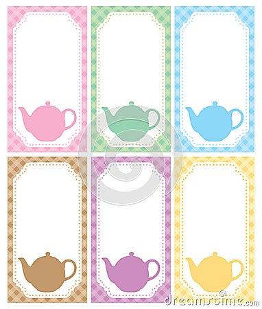 Tea label