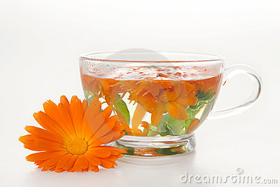 Tea from marigold medical.