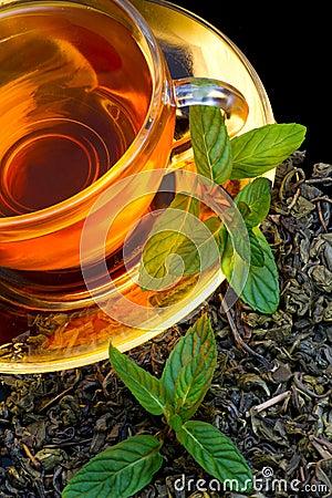 Tea and mint