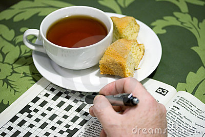 Tea & morning crossword puzzle