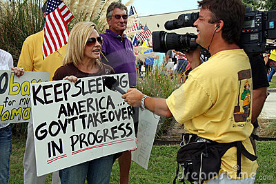 Tea Party Express Editorial Image