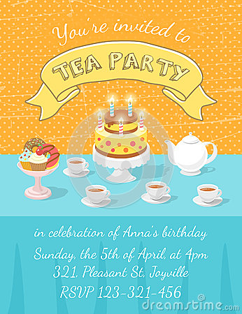 Teapot Birthday Cake Template