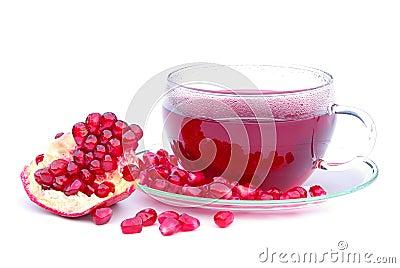 Tea pomegranate