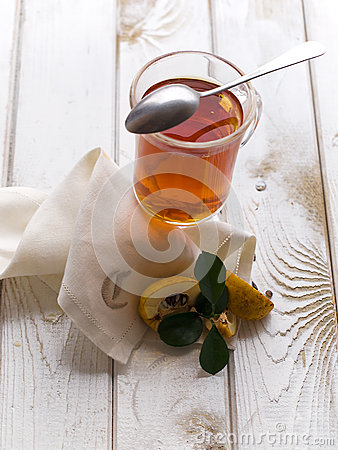 Tea and quince