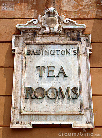 Tea rooms Editorial Stock Image