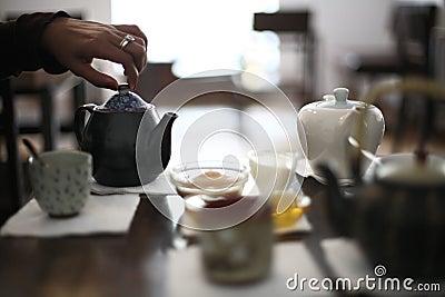Tea serving set