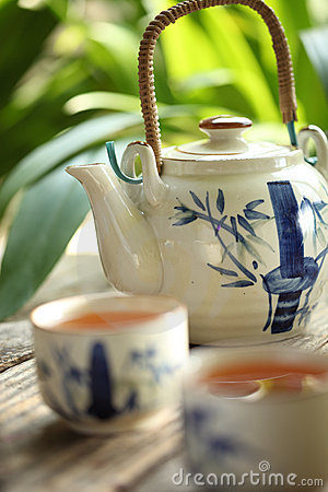 Free Tea Set Stock Image - 11160521