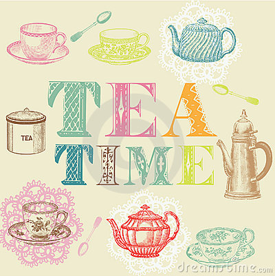 Free Tea Set Royalty Free Stock Image - 16097086