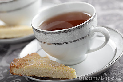 Tea and shortbread