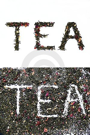 Free Tea Sign Stock Image - 9852191