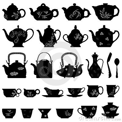 Free Tea Teapot Cup Chinese Japanese Asian Oriental Royalty Free Stock Photography - 17788027