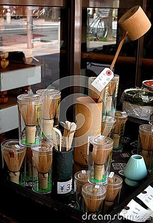 Tea tools stall