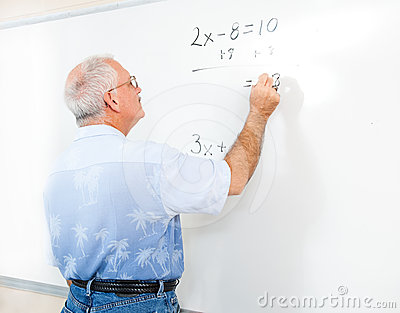 Teacher or Adult Student at Blackboard