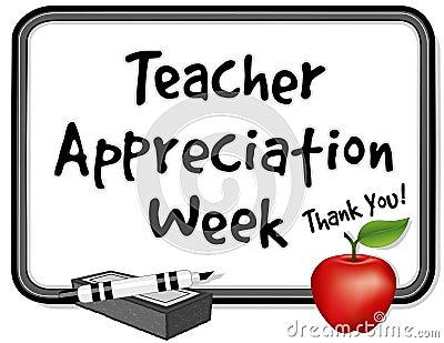 Teacher Appreciation Week, Whiteboard