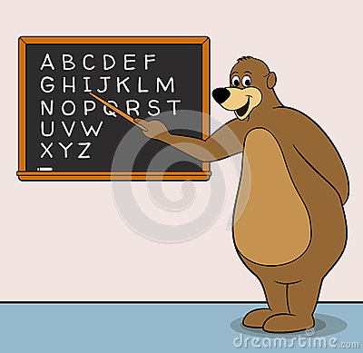 Teacher Bear