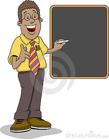Teacher black