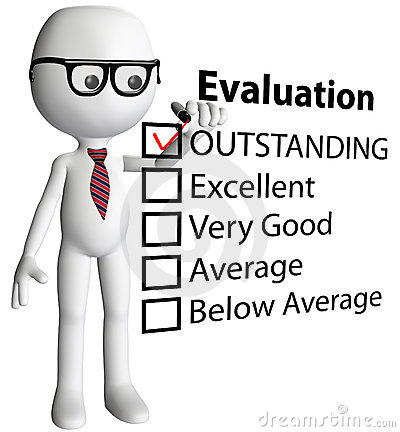 Teacher manager check evaluation form report