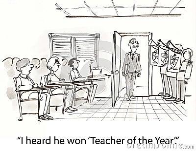 Teacher of year
