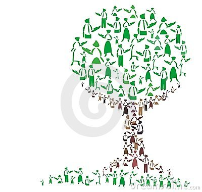 Free Teaching Tree Royalty Free Stock Photography - 6125917