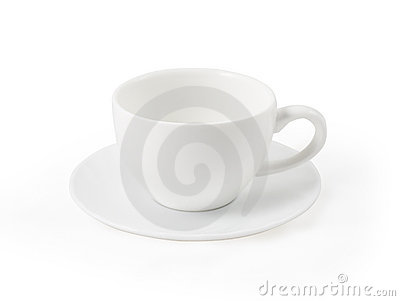 Teacup on the saucer