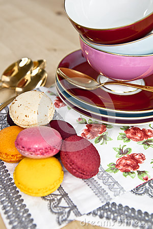 Teacups and Macarons