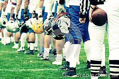 TEAM - American football concept