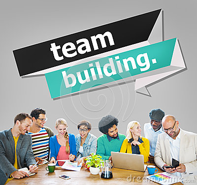 Free Team Building Cooperate Cooperation Management Concept Stock Images - 57346234