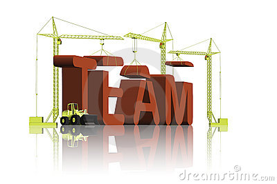 Team building is teamwork collaboration