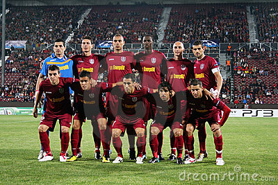 Team CFR Cluj in Champions League
