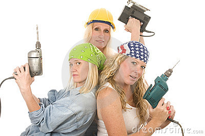 team contractor   ladies tools