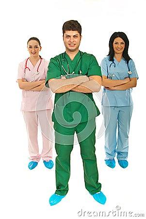 Team of health workers
