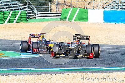 Team Lotus Renault F1, Romain Grosjean, 2012 Editorial Image