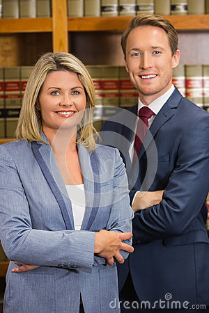 Free Team Of Lawyers In The Law Library Royalty Free Stock Images - 48942789