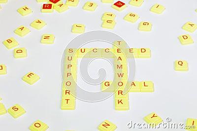 Team Oriented Words