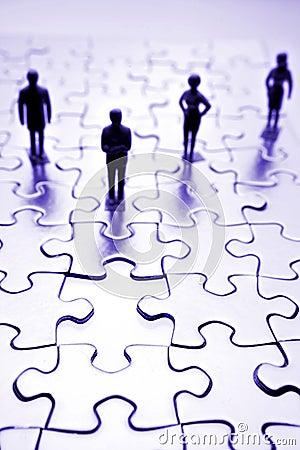 Team & puzzle