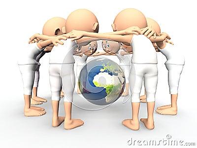 Team spirit, debate about Earth