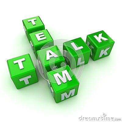 Team Talk Concept
