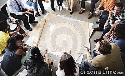 Team Teamwork Meeting Start up Concept Stock Photo