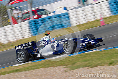 Team Williams F1, Alex Wurz, 2006 Editorial Photography