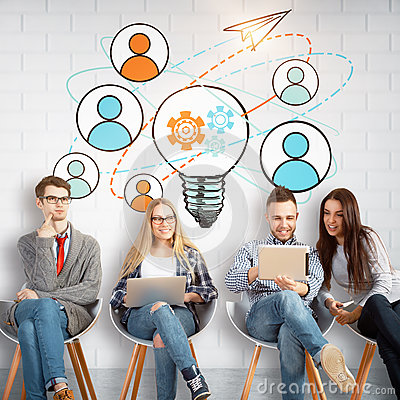 Free Team Work Concept Royalty Free Stock Images - 94097309