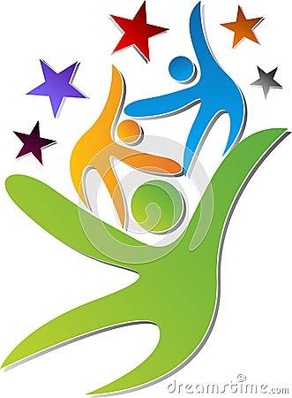 Team work logo