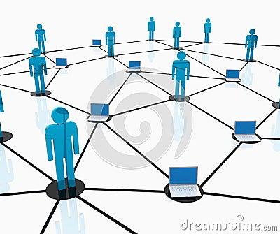 Team work network
