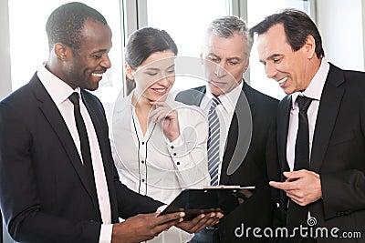 Team work talking