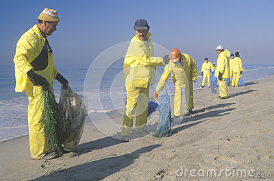 Teams of environmental workers Editorial Image