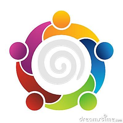 Free Teamwork 5 Logo Stock Images - 23063444