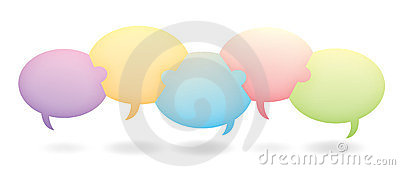 Teamwork Chat Bubbles Royalty Free Stock Photos - Image: 23799198