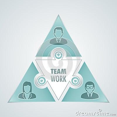 Teamwork graphic