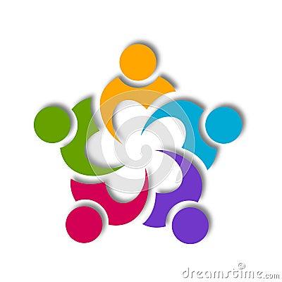 Teamwork Icon Design