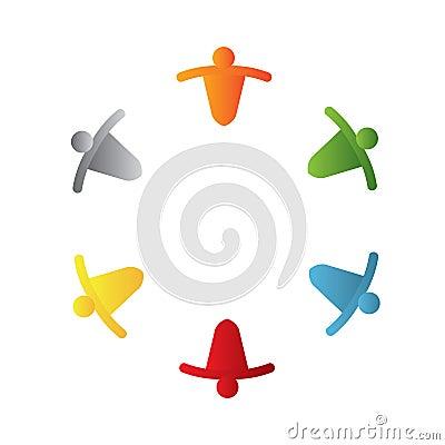 Free Teamwork Logo Stock Image - 14411021
