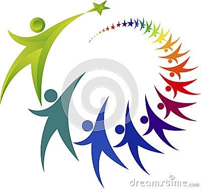 Free Teamwork Logo Stock Photos - 42666693